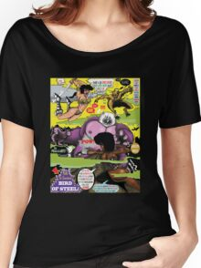Space Chick & Nympho: Vampire Warrior Party Girl Comix #2 - Comic Book Cover  Women's Relaxed Fit T-Shirt