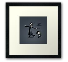 Leon and Mathilda Framed Print