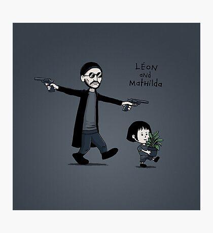 Leon and Mathilda Photographic Print
