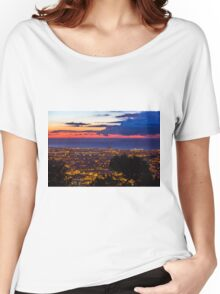 Sunrise over Barcelona, Spain Women's Relaxed Fit T-Shirt