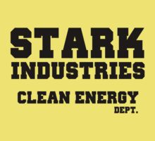 Stark Industries Clean Energy Dept. One Piece - Short Sleeve