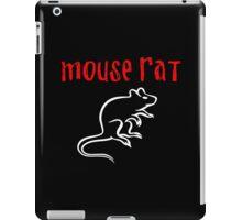 Mouse Rat Fan art iPad Case/Skin