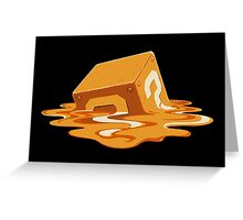 Melting Mystery Greeting Card
