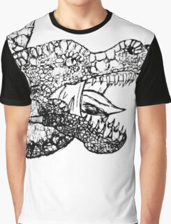 Dragon Sketch Graphic T-Shirt