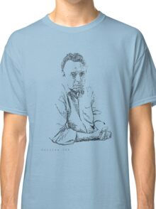 Hitchens drawn with spots Classic T-Shirt