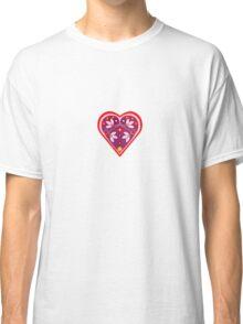 Folk heart 3 centre Classic T-Shirt