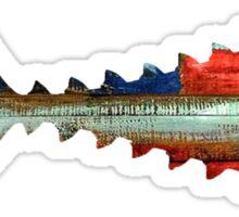 USA Tuna Tail Sticker
