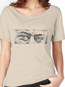 Christopher Hitchens eyes Women's Relaxed Fit T-Shirt