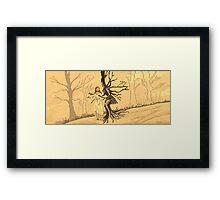 Fairy Tales 01 - Inspired by Arthur Rackham Framed Print