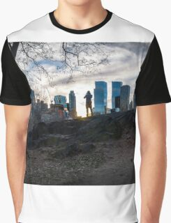 Working Out the Shot Graphic T-Shirt