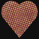 halftone heart by venitakidwai1
