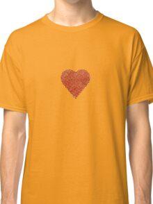 halftone heart Classic T-Shirt