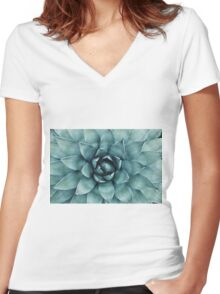 plante  Women's Fitted V-Neck T-Shirt
