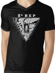 2e REP - 2 REP - Foreign Legion Paratroopers Mens V-Neck T-Shirt
