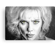 Lucy Movie Canvas Print
