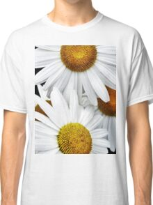 Daisies Abstract Classic T-Shirt