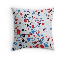 Lying on the Floor Throw Pillow