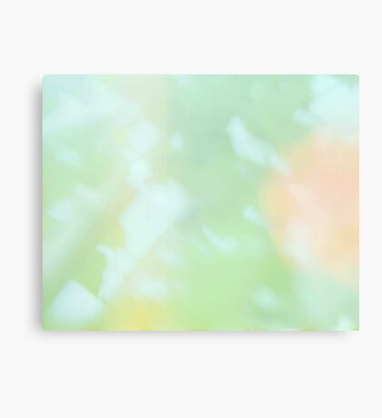Expired Film Abstract Canvas Print