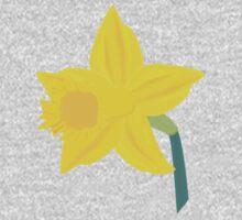 Daffodil, Daffodil One Piece - Long Sleeve