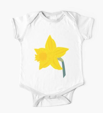 Daffodil, Daffodil One Piece - Short Sleeve