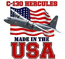 C-130 Hercules Made in the USA Photographic Print