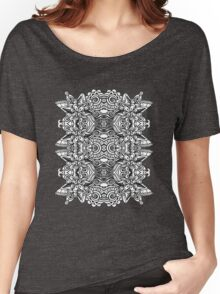 SYMMETRY - Design 001 (B/W) Women's Relaxed Fit T-Shirt