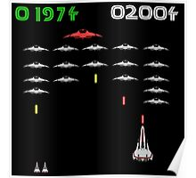 Battlestar Invaders Poster