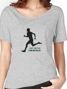 2017 Boston Marathon Women's Relaxed Fit T-Shirt