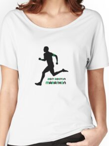 2017 Boston Marathon Women's Relaxed Fit T-Shirt