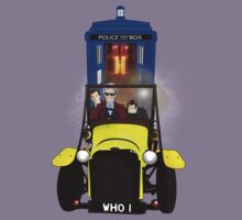 Time Lord Road Trip! Kids Tee