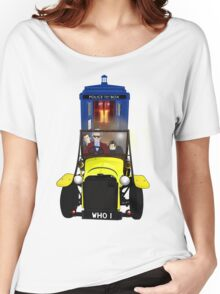 Time Lord Road Trip! Women's Relaxed Fit T-Shirt