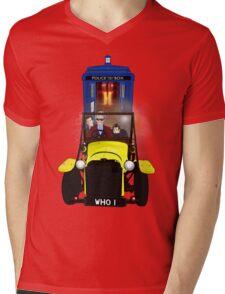 Time Lord Road Trip! Mens V-Neck T-Shirt