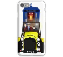 Time Lord Road Trip! iPhone Case/Skin