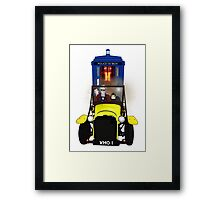 Time Lord Road Trip! Framed Print