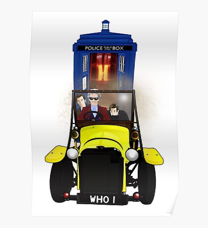 Time Lord Road Trip! Poster