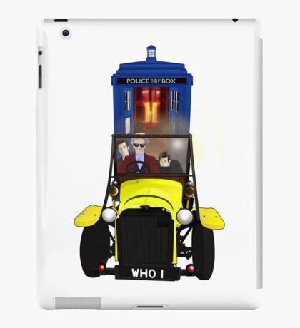 Time Lord Road Trip! iPad Case/Skin