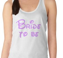 Bride to Be Women's Tank Top