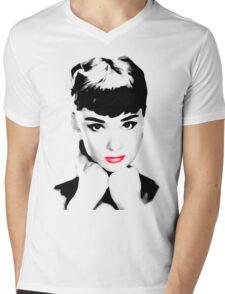 audrey hepburn t-shirt Mens V-Neck T-Shirt