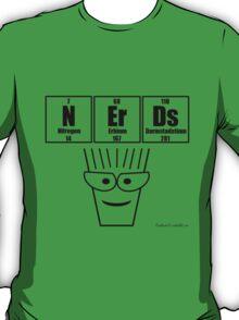NErDs - Black print T-Shirt
