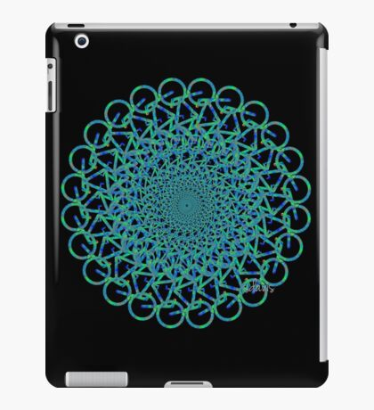 Fractal Bicycle 1010 iPad Case/Skin