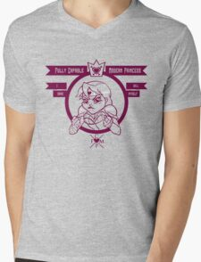Capable Modern Princess - Purple Mens V-Neck T-Shirt