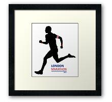 2017 London Marathon Framed Print