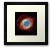 Galaxy - Helix Nebula Framed Print