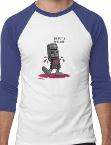 A Vintage Flesh Wound Men's Baseball ¾ T-Shirt