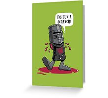 A Vintage Flesh Wound Greeting Card