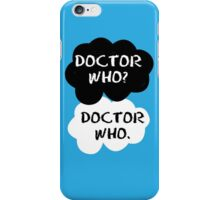Doctor Who - TFIOS iPhone Case/Skin