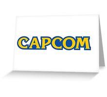 Capcom Classic video games Greeting Card