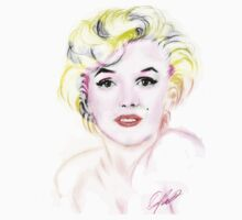 marilyn monroe t-shirt by ralphyboy