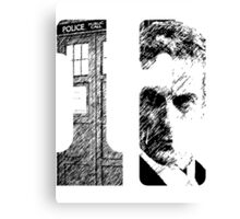 There is only one TWELVE Canvas Print
