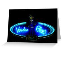NightLife : Voodoo Blues Greeting Card